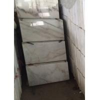 Cheap Guangxi White marble polished 240x140cm tile slab gloss floor tiles window sill for sale