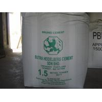 Cheap Tubular 1.5 Ton Bulk Bags for cement for sale