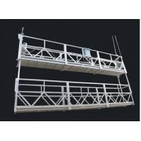 Cheap Aluminum Alloy Double Deck Rope Suspended Platform and Suspended Access Equipment for sale