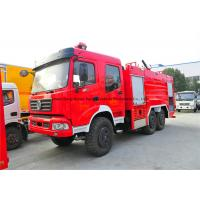 Cheap Dongfeng AWD 6x6 Off Road Fire Fighting Truck With Frame Structure Type for sale