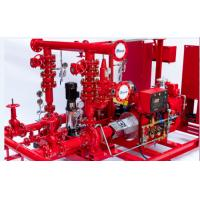 Buy cheap Multi Functional 750 GPM End Suction Fire Pump With Electric Motor Driven 155 from wholesalers