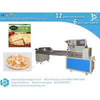 Cheap Kobe pizza frozen packaging automatic food flow packaging machine for sale