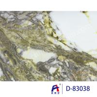 Cheap Marble Grain Pvc Ceiling Film For Wall Panel , Environmental Protection for sale