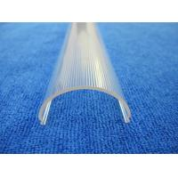 China Extrusion profiles plastic clear cover for Polycarbonate led light diffuser on sale