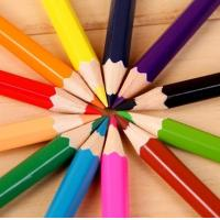 Buy cheap Color Pencils 24 Different Colors P P Barrels Packaging from wholesalers