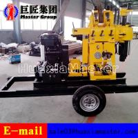 Cheap XYX-200 Wheel Type hydraulic press rotary drilling machine water well drilling rig for sale for sale