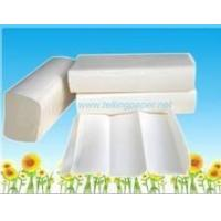 Cheap 150sheets embossed Ultra  Slim Paper Towel bleached white or unbleached natural for sale