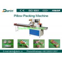 Cheap Horizontal Flow Pack Rotary High Speed Automatic pillow packaging machine for sale