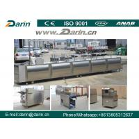 Cheap Stainless Steel Cereal Bar Making Machine , Snack Cutting Machines For  Sesame Bar wholesale