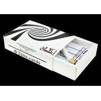 Cheap Ekka Poker in 0.32mm Thick Plastic Blackjack Size With Calculation card & Pencil for sale