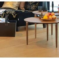China oak real wood HDF laminate flooring oak veneer laminate click system on sale