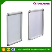 Cheap A1. A2. A3. A4 round corner aluminum graphic frame, anodised silver picture snap frame for sale