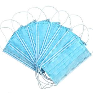 Cheap Anti PM2.5 Non Sterile Triple Layer Earloop Face Mask for sale