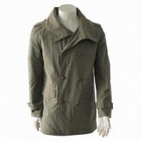 Cheap Men's Fashionable Windbreaker/Casual Jacket/Leisure Coat with Stylish Design for sale
