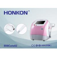 Cheap Pink 300W Portable 808Nm Diode Laser Beauty Machine For Permanent Hair Removal for sale