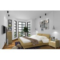 Cheap Apartment Furniture Space Saving New Residence Bedroom Fabric Upholstered