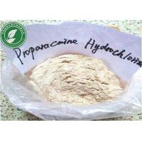 Buy cheap Pharmaceutical Proparacaine Hydrochloride Powder for Pain Killer CAS 5875-06-9 from wholesalers