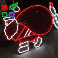 Cheap Small Custom Neon Sign DC12V LED Shop Display For Christmas Decoration for sale