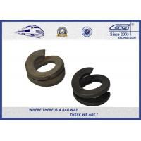 Quality 65Mn Spring Steel Double Coil Washer / Bouble Layer Waher Black Surface wholesale