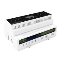 China Led Lighting System 4 Channels Of 0-10 Volt Dimming Control on sale