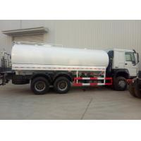 Cheap Q345 HOWO Water Container Truck 6 X 4 336HP Euro II High Collision Resistance for sale