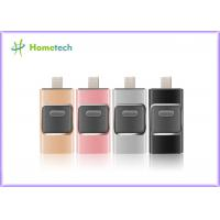 Cheap Mobile Phone USB Flash Drive For IOS / Android , I- Easy Drive With Aluminum Alloy Material wholesale