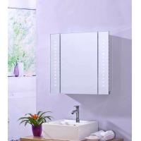 China FUSXIN Stainess Led Mirror Cabinet With Shaver Socket And Demister on sale