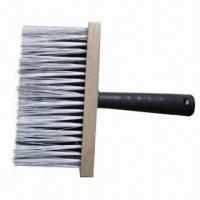 China Paint Wall Brush with Synthetic Bristle, Wooden Holder and Plastic Handle, Various Sizes Available on sale