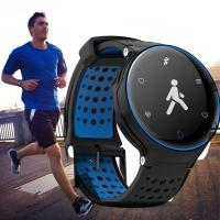 Cheap GPS Running Bluetooth Smart Bracelet Fitness Tracker With Polymer Lithium Battery for sale
