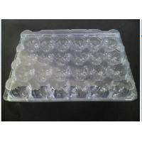 China Lightweight Eco Friendly Clear Plastic Egg Cartons 24 Cavities ISO9001 Approval on sale