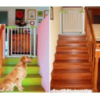 China Green Kids Safety Door Gates Steel baby security gate for Stairs on sale