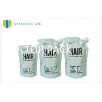 Buy cheap Aluminum Foil Customized Stand Up Pouch With Spout For Shampoo from Wholesalers