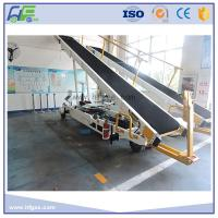 Cheap Towable Baggage Conveyor Belt Loader , 700 - 750 Mm Width , Easy Operation for sale