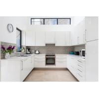 Cheap High Quality Australia Modern White Kitchen Pantry Cupboards Kitchen Cabinets for sale