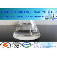 China CAS 78-81-9 Isobutylamine Transparent Chemistry Intermediate For Pesticides on sale