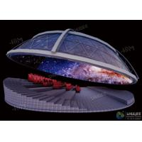Cheap Dynamic Dome Movie Theater For Major Scenic Spots / Museums / Planetariums for sale