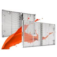 Quality P 3.75-6.67 Transparent LED Screens For Advertising , Hd Transparent Led Panel wholesale
