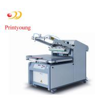 China Semi - Automatic Paper / Label Silk Screen Printing Equipment 380V 3kw on sale