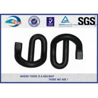 Cheap ISO Diameter 18mm Black E Elastic Clips Black for Rail Fastening for sale