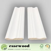 Cheap Decorative White Primed Natural Wood Standard Smooth Crwon Moulding for Ceiling for sale
