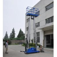 Cheap Dual mast vertical access platform aerial work platform aluminum lift wholesale