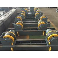 Cheap 20t Pipe Turning Rolls Conventional Welding Rotator Drive By 1.1kw Motor Power for sale
