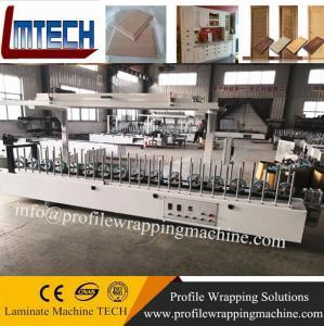 China WPC Composite Profiles Door Jamb profile laminating machine factory on sale