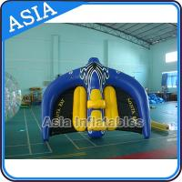 Cheap 0.9mm PVC Tarpaulin Inflatable Flying Manta Ray / Fly Fish Inflatable Water Parks wholesale