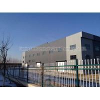 Quality Large Span Structural Steel Prefabricated Warehouse Buildings In Steel for sale