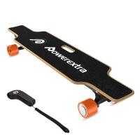 China Powerextra 1800W Dual Motor Electric Longboard Skateboard 4 Wheels with Remote Control on sale