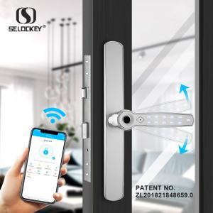 China 35A Bluetooth App Keypad Mortise Hook Aluminium Door Locks And Handles on sale