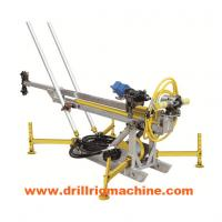 Cheap Hydraulic Man Portable Drilling Rig Machine With 400nm Rotary Torque Long Stroke Cylinder wholesale