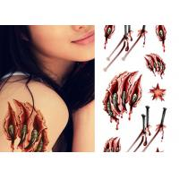 Cheap OEM Service Real Looking Fake Body Tattoo Stickers For Adults / Children wholesale