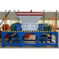Buy cheap Removable Blade Double Shaft Wood Pallet Shredder Capacity 1.2 tph from wholesalers